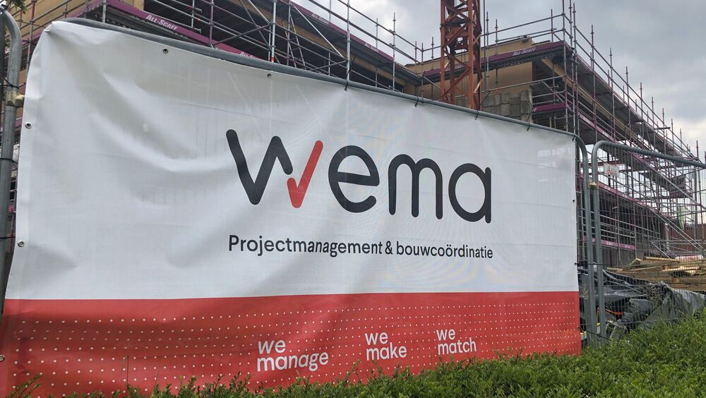 Wema Projectmanagement Projectcoordinatie Renovatie Kantoor Retail Estates Ternat 1
